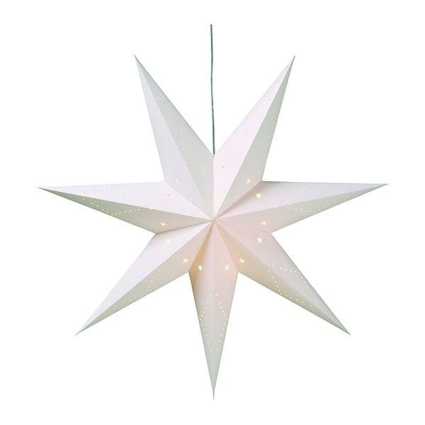 Bílý závěsná světelená dekorace Markslöjd Saturnus, ø 100 cm