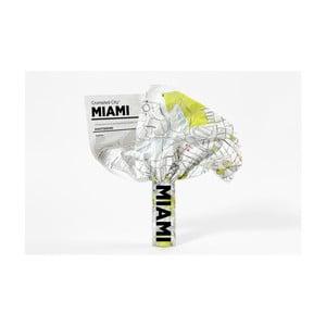 Zmačkaná cestovní mapa Palomar Miami