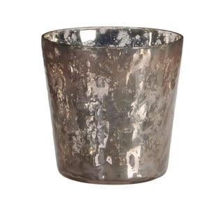 Stojan na svíčku Benito Pink, 10x11 cm