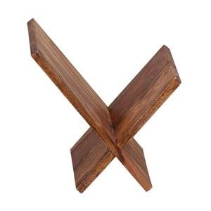 Stojan z masivního palisandrového dřeva na časopisy Skyport Carla