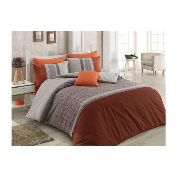 Lenjerie de pat cu cearșaf Spence, 200 x 220 cm