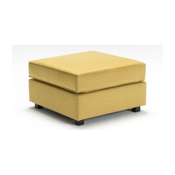 Žltá podnožka Balcab Home Mercy