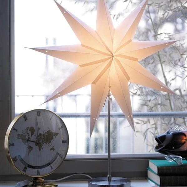 Stolní konstrukce lampy na dekorativní hvězdy, mírně poškozený obal