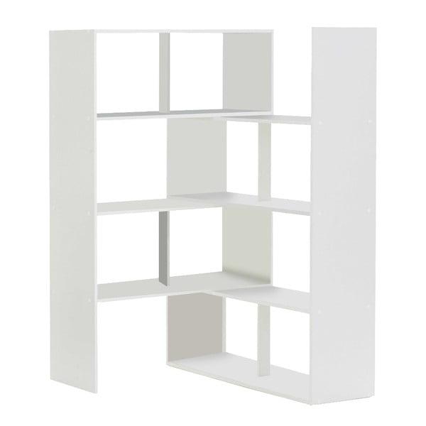 Bílá nastavitelná knihovna 13Casa Stretch