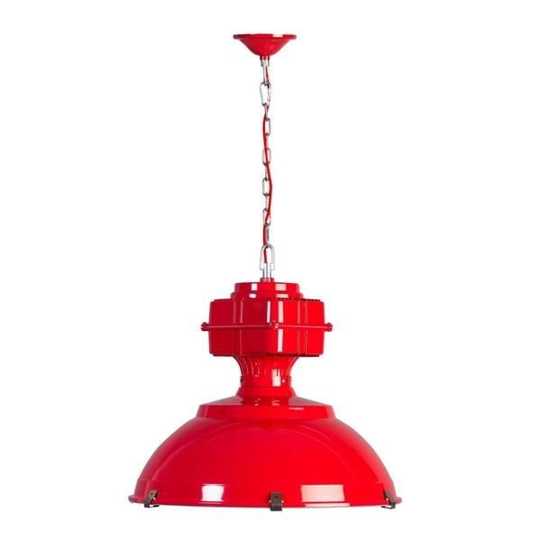 Červené stropní svítidlo ETH Manduria