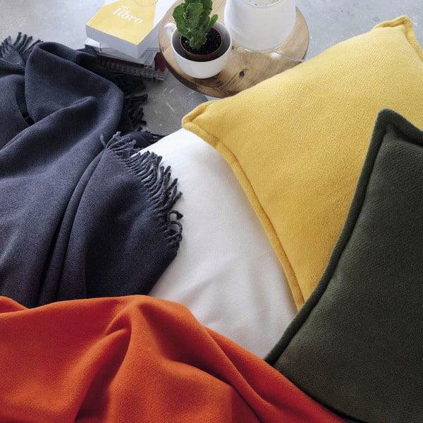 Žlutá deka Euromant Basics, 140 x 180 cm