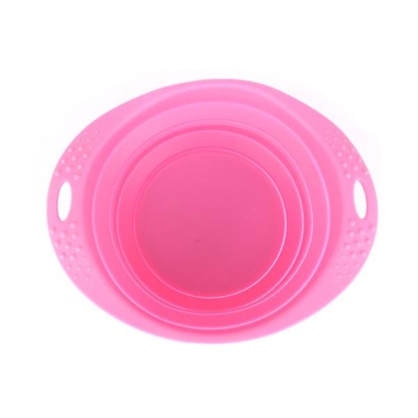 Cestovní miska Beco Travel Bowl 22 cm, růžová