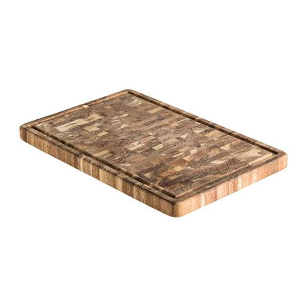 Krájecí prkénko z akáciového dřeva Brandani Premium,46x30cm