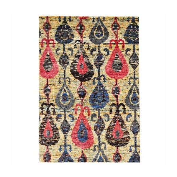 Ručně tkaný koberec Ikat H9 Mix, 140x200 cm