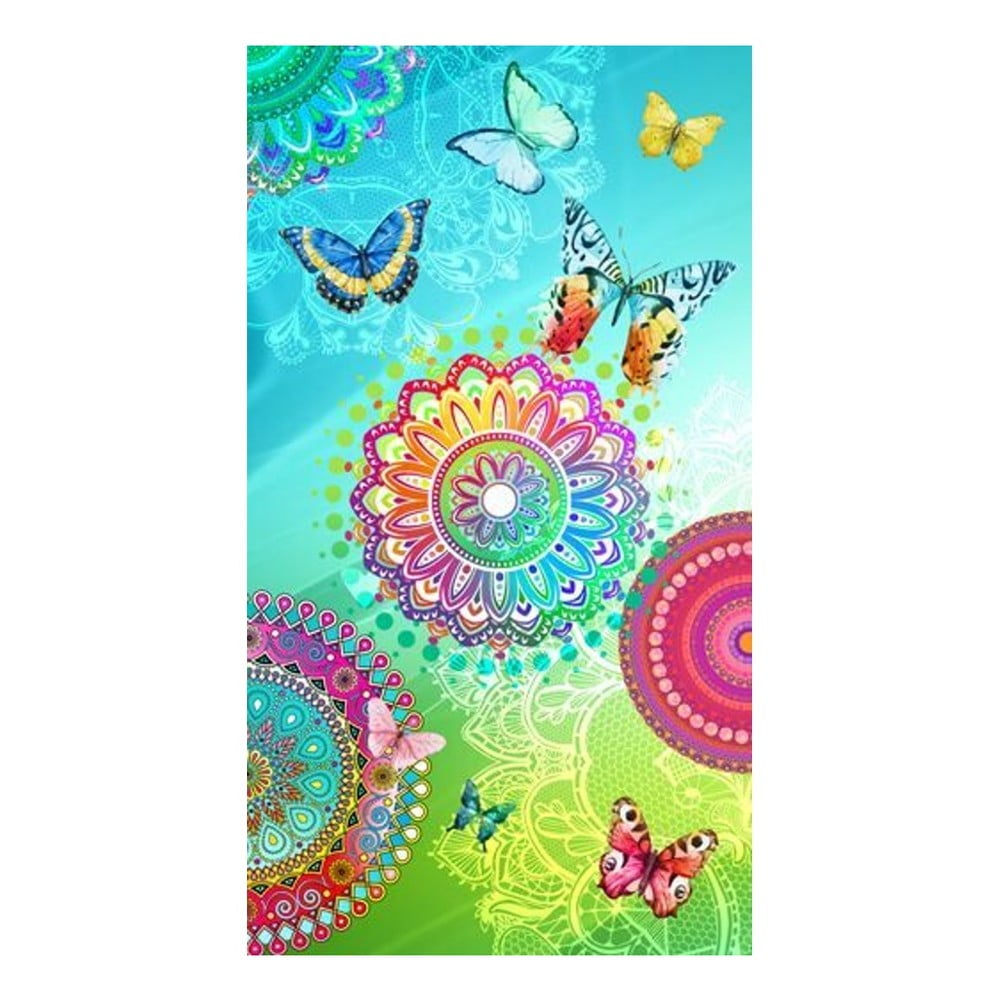 Plážová osuška s potiskem Muller Textiels Mystic, 100 x 180 cm