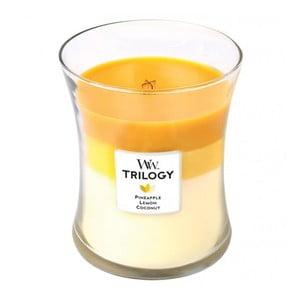 Vonná svíčka WoodWick Plody léta, 60 hodin hoření