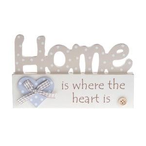 Dřevěná dekorace Home Heart