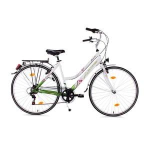 "Dámské kolo City Bike Papilio White, 26"""
