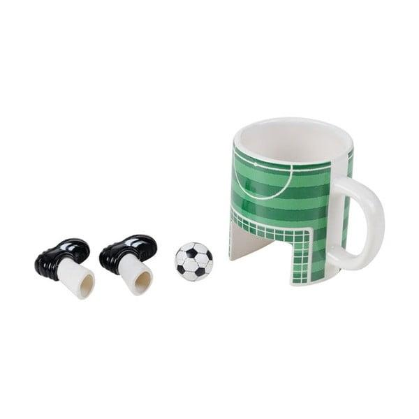 Kubek ceramiczny Gift Republic Football, 325ml