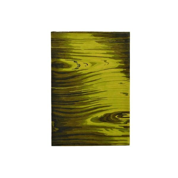 Ručně tkaný koberec San Marino, 140x200 cm, zelený