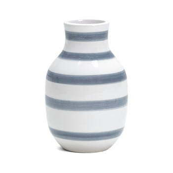 Vază din ceramică Kähler Design Omaggio, înălțime 12,5 cm, albastru deschis – alb de la Kähler Design