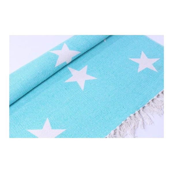 Koberec La Finesse Stars Blue, 70x200 cm