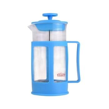 French press pentru cafea și ceai Bambum Magic, 350 ml, albastru de la Bambum