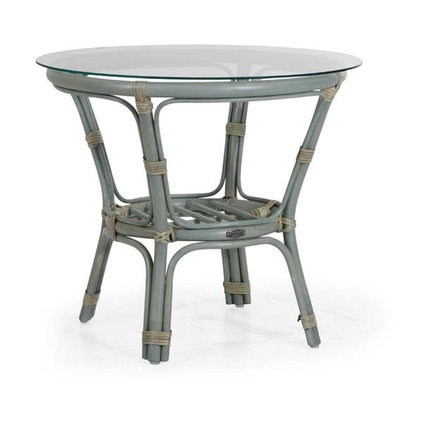 Zelený zahradní stolek Brafab Kubor, ∅65cm