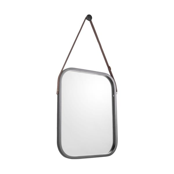 Nástenné zrkadlo v čiernom ráme PT LIVING Idylic, dĺžka 40,5 cm