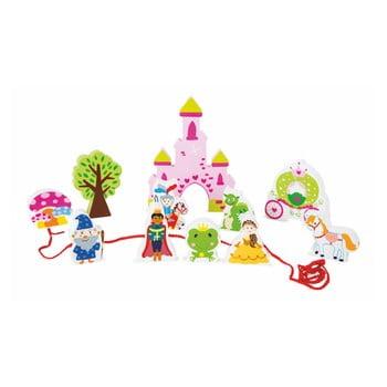 Set jucării din lemn cu șnur Legler Fairytale imagine