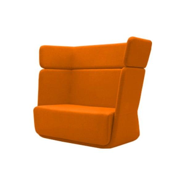Pomarańczowy fotel Softline Basket Valencia Orange