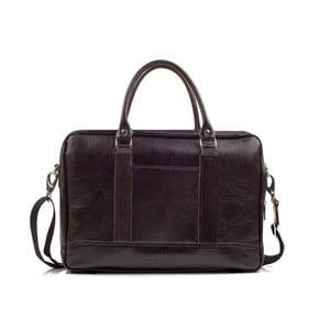 Pánská kožená taška Solier SL02 Brown