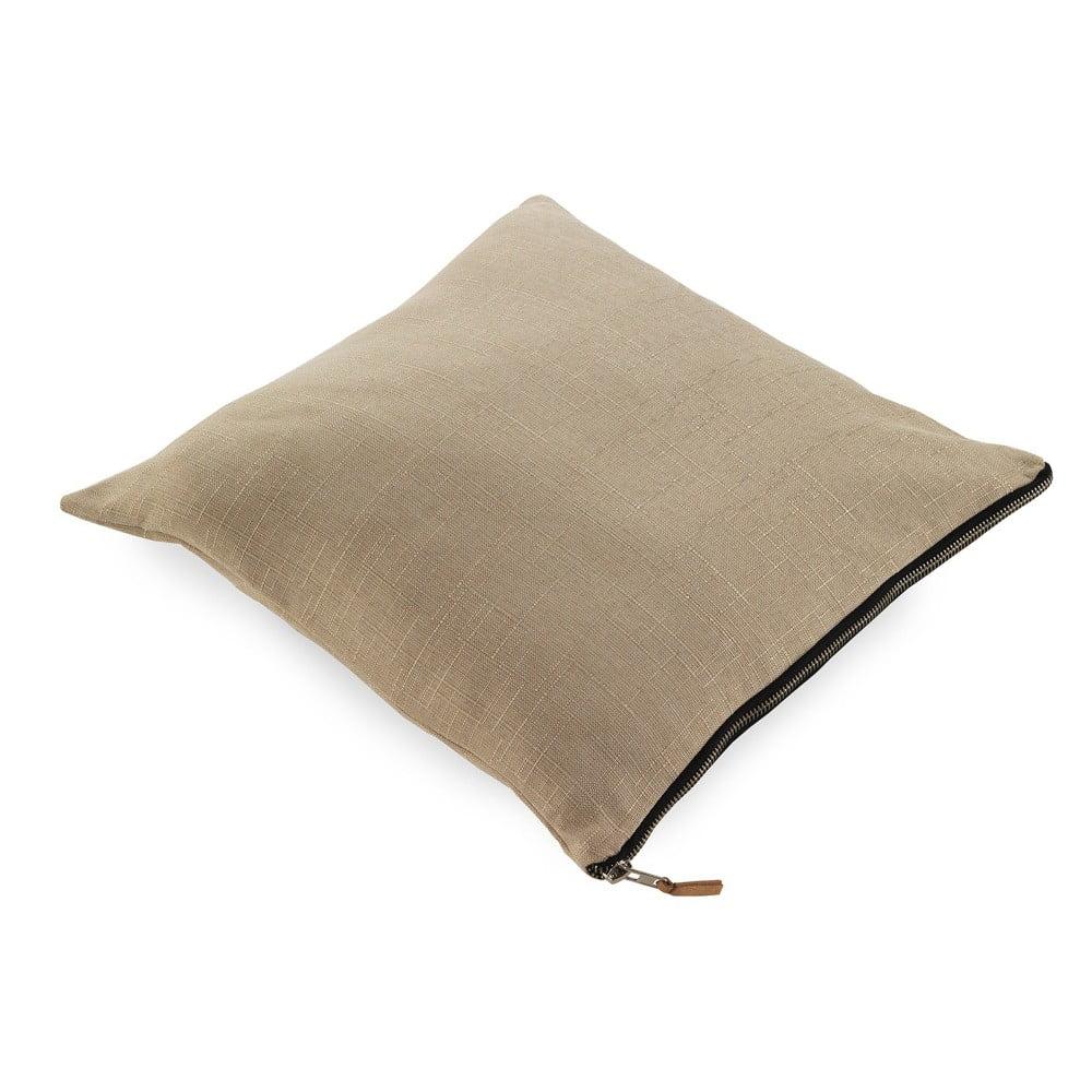 Béžový polštář Geese Soft, 45 x 45 cm