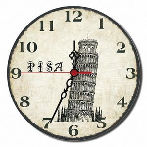 Nástěnné hodiny Pisa, 30 cm