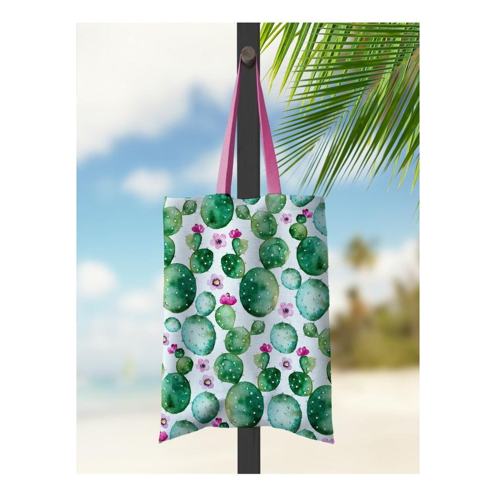 Plážová taška Kate Louise Cactusito