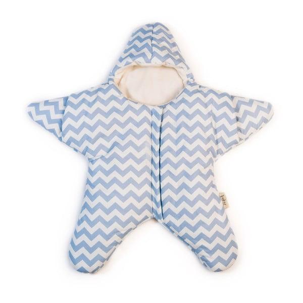 Dětský spací vak Blue Star, vhodný i na léto, pro děti od 4 do 7 měsíců