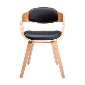 Jídelní židle se světlým dřevěným podnožím Kare Design Costa