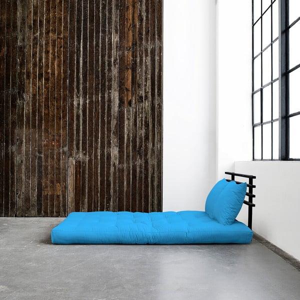 Canapea extensibilă Karup Shin Sano Black/Horizon Blue