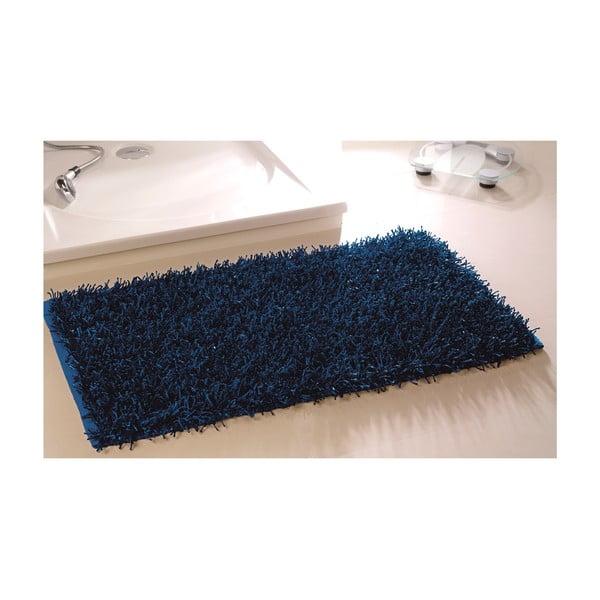 Koupelnová předložka Metallic Look Naby Blue, 60x100 cm