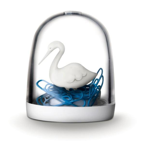 Krabička na kancelářské sponky Swan in the Pond
