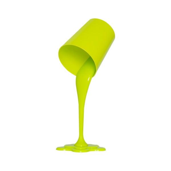 Zelená stolní lampa Homemania Ximena