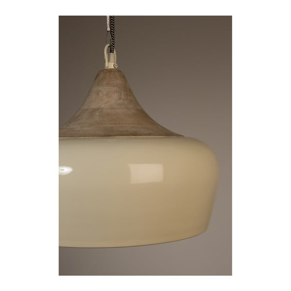 Závěsné svítidlo v krémové barvě Dutchbone Coco