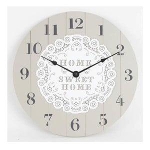 Dřevěné nástěnné hodiny