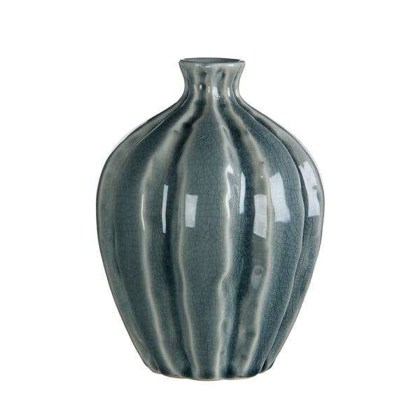 Keramická váza Marlena Turquoise, 15x11 cm