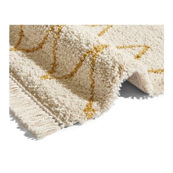 Krémový koberec Mint Rugs Rotonno, 160x230cm