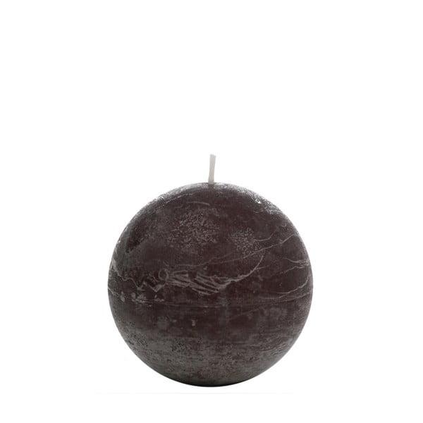 Brązowa świeczka J-Line Globe