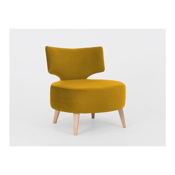 Flippin mustársárga fotel - Costum Form