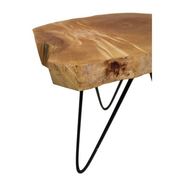 Dubový stolek HSM collection Roxy, 40 x 44 cm