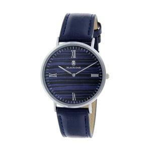 Modrostříbrné dámské hodinky Black Oak Hula