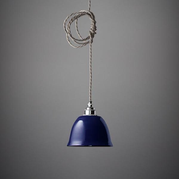 Závěsné světlo Miniature Bell Midnight Blue
