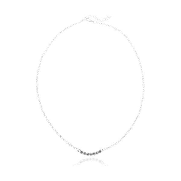 Alison ezüstszínű nyaklánc - NOMA