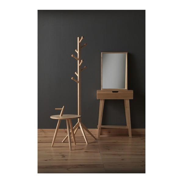 Konzolový stolek z březového dřeva Geese Pure