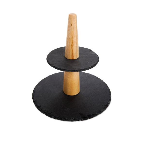 Platou supraetajat pentru prăjituri Bambum Poetna