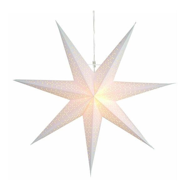 Stea luminoasă suspendată Dot Snow, 70 cm