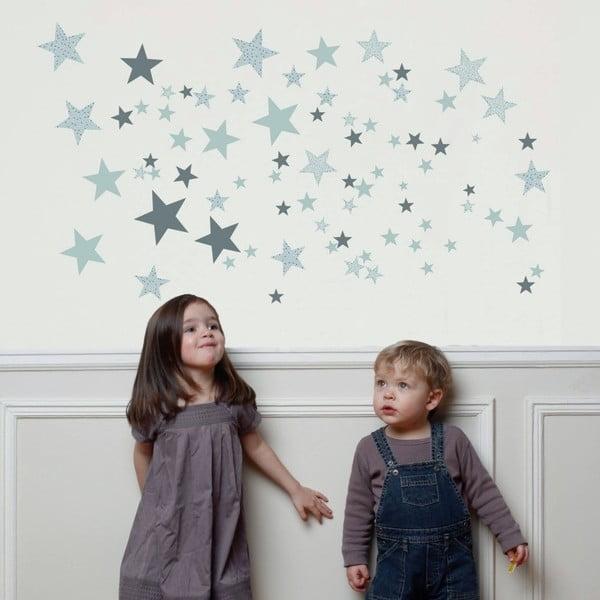 Šedé nástěnné samolepky Art For Kids Constellation